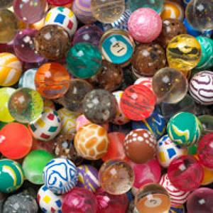 Premium Mix Bouncy Balls