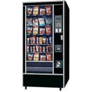 Rowe 5900 JR GF Snack Vending Machine Merchandiser