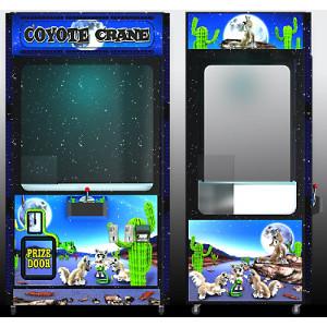 COYOTE 2.0-Crane Skill Claw Arcade Merchandiser