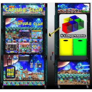 CAPSULE CLAW-Crane Skill Claw Arcade Merchandiser