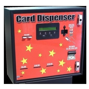 AC603 3-Bin Front Load Cash-Credit-Card Dispenser