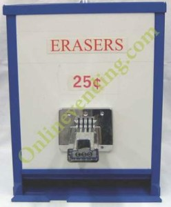 Pencil Eraser Vending Machine
