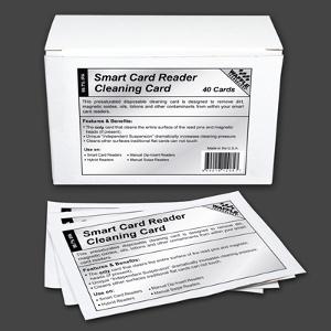 Waffletechnology Smart Card Reader Cleaning Card