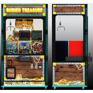 BURIED TREASURE-Crane Skill Claw Arcade Machine