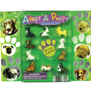 Adopt A Puppy Series 3 Figurines-2.2 Inch Toy Capsules