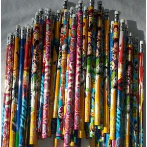 Disney Assorted Wood Pencils Mix of 8 Characters