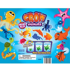 Grow Animals - 2.2 Inch Acorn-Shaped Capsules
