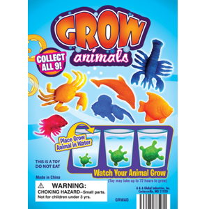 Grow Animals - 1.1 Inch Acorn-Shaped Capsules