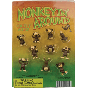 Monkeyin' Around Figurines - 1.1 Inch Capsules