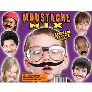 Moustache Mix - 2.2 Inch Acorn-Shaped Capsules
