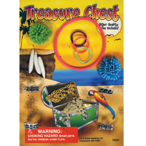 Treasure Chest - 1.1 Inch Acorn-Shaped Capsules