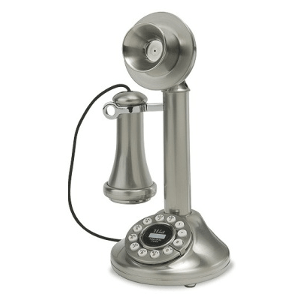Crosley 1920's Candlestick Phone – Model CR64-BC