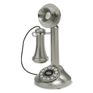 Crosley 1920's Candlestick Phone – Model CR64-BC