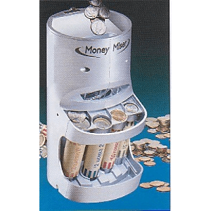 Money Miser Motorized Coin Sorter Piggy Bank