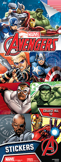 Avengers Assemble #3 Sticker-Vending Refill