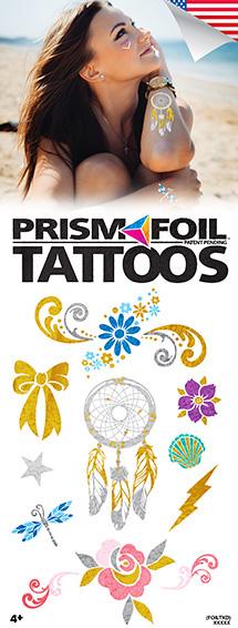 PrismFoil Tattoos - Vending Tattoo Refill