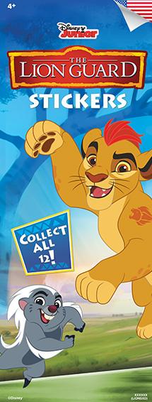 LIONS - Disney Lion Guard Stickers-Vending Refill