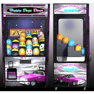 DINER-Crane Merchandiser-Skill Claw Impulse Machine