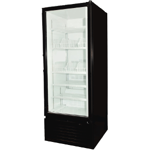 Royal Vendors Model RVZF-027 Glass Door Freezer
