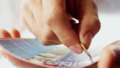 Моментальная лотерея (скретч карты)
