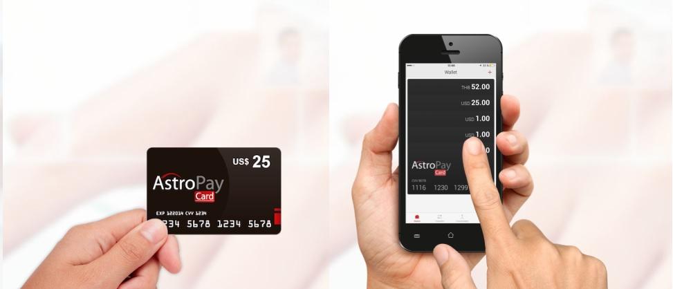 AstroPay חשבון וכרטיס