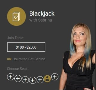 Blackjack with Sabrina