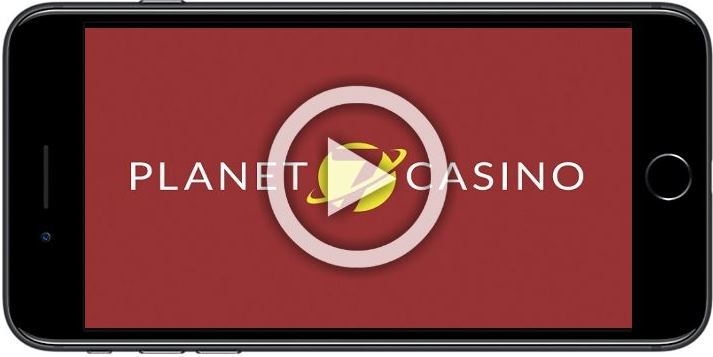 The New Planet 7 Mobile Casino Lobby