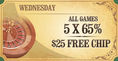 Wednesday  Casino Promotions
