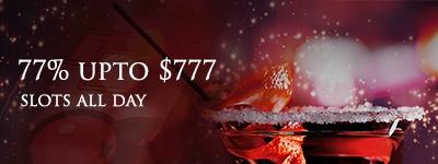 Lucky Red Casino Friday It's a 77% slot bonus every Friday