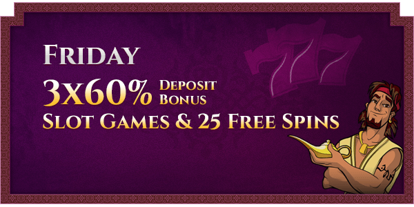 Friday Casino Promotions