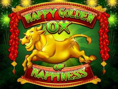 Happy Golden OX of Happiness