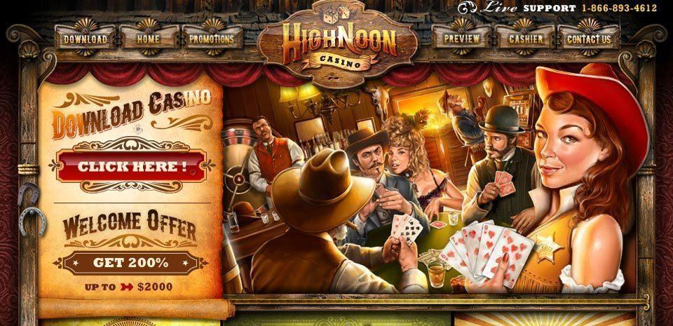 highNoon Casino Screenshot