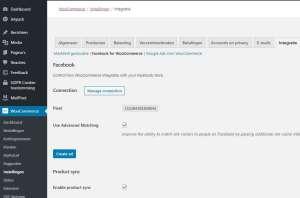 Facebook winkel integratie met Uw webshop