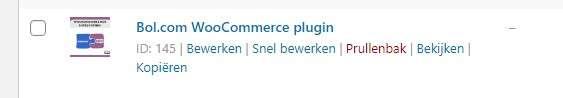 WooCommerce product ID vinden