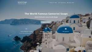 Santorini-soaps