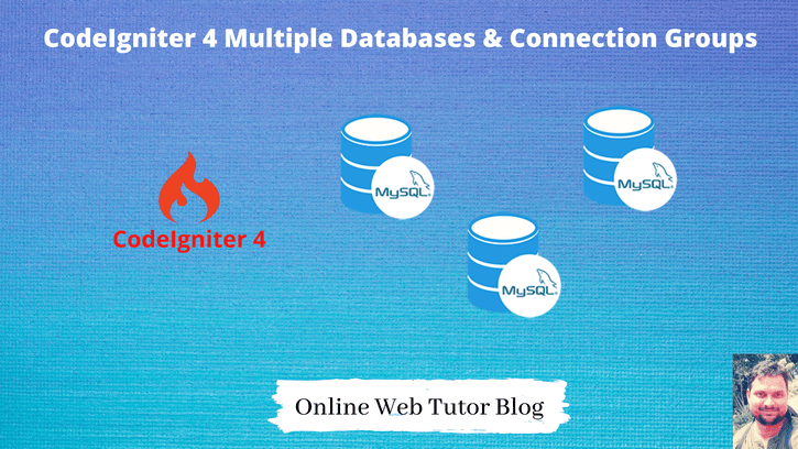 CodeIgniter 4 Multiple Databases And Connection Groups