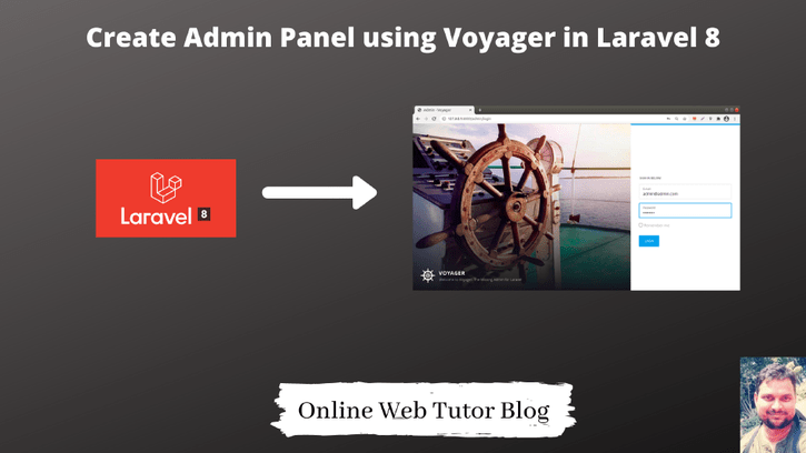 How-to-Create-Admin-Panel-using-Voyager-in-Laravel-8