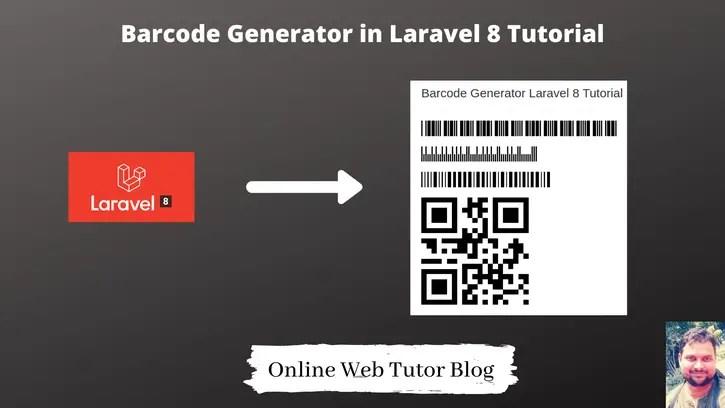 Barcode-Generator-in-Laravel-8-Tutorial