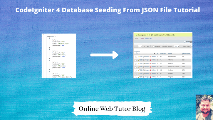 CodeIgniter-4-Database-Seeding-From-JSON-File-Tutorial
