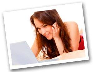 como conquistar uma menina online.