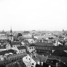 Blick vom Altstädter Rathaus auf Prag