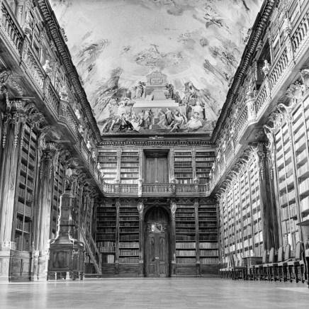 Philosophischer Saal der Bibliothek des Klosters Strahov.