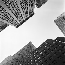ny-skies - financial district II