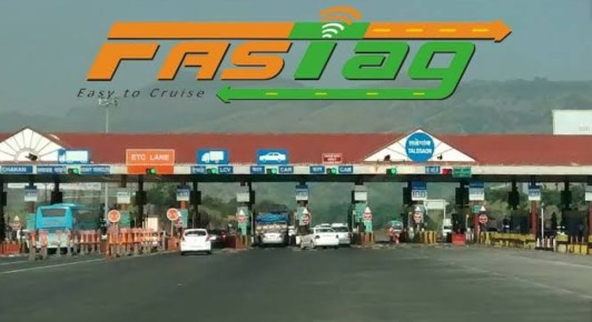 fastag at toll plaza all over india