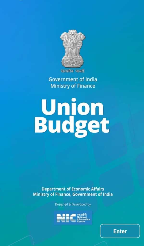 Mobile app for Union Budget 2021