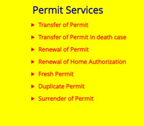 Permit services online from Delhi RTO