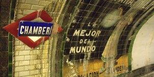 Estación de Chamberí. Madrid