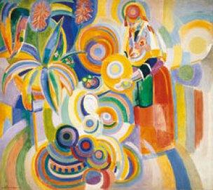 Robert Delaunay. La gran portuguesa. 1916