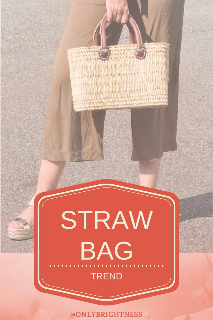 strawbag tendance sac panier fashion