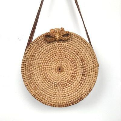 round straw bag 300x300 - The Straw Bag Trend